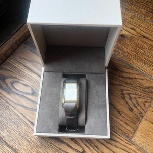 Burberry BU1117 Heritage Gold Swiss Made Leather